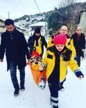 GÜMÜŞSU - Kar Yağışı Nedeniyle Bakımı Yapılamayan Yatalak Hasta İçin Seferber Oldular