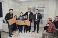 HALK BANKASı - Malatya'da 10 Adet Diz Üstü Bilgisayar Şehit Ailelerine Hediye Edildi