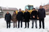 MEHMET NEBI KAYA - Sivas'ta Karla Mücadele Çalışmaları Sürüyor