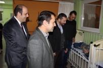 Vali Aktaş, Hastane Ve Emniyet Çalışanlarını Ziyaret Etti