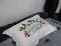 AHMET DURSUN - Yardım için verilen yastıktan para çıktı