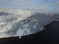 ABANT - Abant Gölü'nün Havadan Görüntüsü Büyüledi
