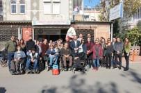 GÖRME ENGELLİLER - Ak Parti Muratpaşa Gençlikten 'Özel' Ziyaret