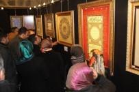 KAFKAS ÜNİVERSİTESİ - Ankara'dan Kars'a 'Geleneksel Türk Süsleme Sanatları Sergisi'Nin Açılışı Yapldı