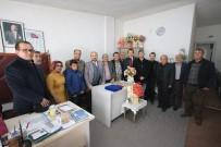 HAYIRSEVER İŞ ADAMI - Başkan Özaltun'dan Engelliler Derneği'ne Ziyaret