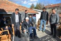 MEHMET KARAKAŞ - -Engelliler Haftasında Engelli Vatandaşa Engelli Arabası