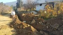 KANALİZASYON - Kabaçınar Mahallesi'nin İçme Suyu Hattı Yenileniyor