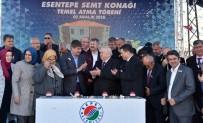 ESENTEPE - Kepez'de Yeni Semt Konağının Temeli Törenle Atıldı