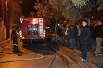 YUNUSEMRE - Manisa'da Ev Yangını