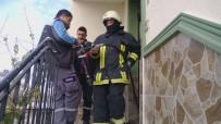 Mutfaktaki Aspiratör Patlayınca Yangın Çıktı