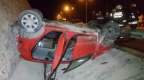 HÜSEYIN YıLMAZ - Samsun'da Otomobil Takla Attı Açıklaması 5 Yaralı