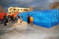 TARıM - Yangın Mağduru Tarım İşçileri Yeni Çadırlarına Kavuştu