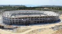MİMARİ - Adana'nın Yeni Stadının Yüzde 70'İ Tamamlandı