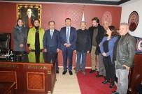 GAZI MUSTAFA KEMAL - Ağababa'dan Baroya Ziyaret