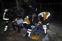 SAĞLIK EKİPLERİ - Antalya'da Polisten Kaçan 3 Arkadaş Ölümden Döndü