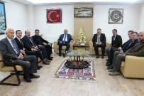 ÜST GEÇİT - Başkan Çoban'dan, Başkan Konak'a Ziyaret