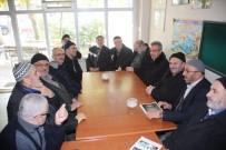 GEBZELI - Başkan Köşker, Arapçeşme Caminde Cemaatle Sohbet Etti