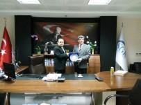 SOSYAL GÜVENLIK - Başkan Yılmaz'dan SGK Çanakkale Müdürüne Ziyaret