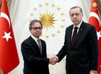 EDUARDO - Brezilya Büyükelçisi Cumhurbaşkanı Erdoğan'a Güven Mektubu Sundu