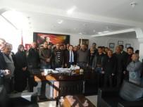 Çiçekdağı Belediyesi Personelinden Başkan Deniz'e Pastalı Doğum Günü Sürprizi