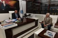 DIYALOG - Ege Bölgesi Malatyalılar Derneği Başkanı Ateş'ten Gürkan'a Ziyaret