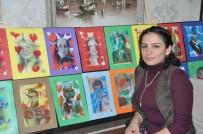 EBRU SANATı - GKV'de Ebrulu Portreler Sergisi Büyük İlgi Görüyor