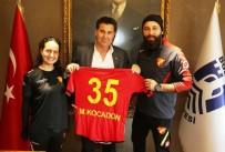 SOSYAL SORUMLULUK - Göztepe Bodrum Futbol Okulu'ndan Başkan Kocadon'a Ziyaret