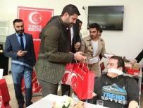 HİDAYET TÜRKOĞLU - Hidayet Türkoğlu Ve Ömer Onan Engelli Sporcuları Ağırladı