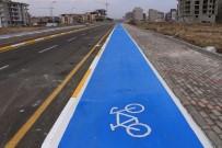 BİSİKLET TURU - Merkezefendi'ye 7 Bin 500 Metre Bisiklet Yolu