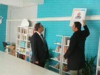 ÖZALP BELEDİYESİ - Müdür Aksoy'dan Okullara Ziyaret