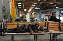 ŞEHİRLERARASI OTOBÜS - Otobüs Terminali Evsizlerin Yuvası Oldu...