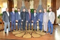 MÜNIR KARALOĞLU - OTSAD Yöneticilerinden Vali Karaloğlu'na Ziyaret
