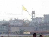 YPG - PYD'den Türkiye sınırında flamalı tahrik