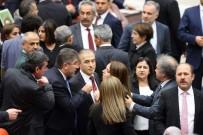 HALKLARIN DEMOKRATİK PARTİSİ - TBMM Başkanı Kahraman İle HDP'li vekiller arasında tartışma