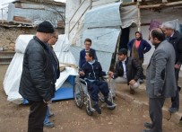TEKERLEKLİ SANDALYE - Tekerlekli Sandalye Umut'a Umut Oldu