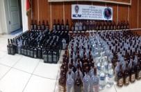 KAÇAK İÇKİ - Uşak'ta 477 Şişe Kaçak İçki Ele Geçirildi