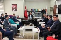 GENEL SEKRETER - Vali Azizoğlu, KUDAKA'yı Ziyaret Etti