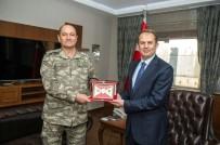 İBRAHIM TAŞYAPAN - 2. Ordu Komutanı Temel'den Vali Taşyapan'a Ziyaret