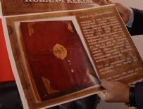 MÜNIR KARALOĞLU - 220 yıllık Kur'an-ı Kerim elden geçecek