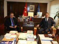 AVRUPA PARLAMENTOSU - AB Bakanı Çelik, AB Türkiye Delegasyonu Başkanı Berger'i Kabul Etti