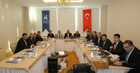 ERTAN PEYNIRCIOĞLU - Aksaray'da AHİKA Yönetim Kurulu Olağan Toplantısı Yapıldı