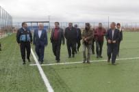 YENICEOBA - Başkan Kale, Projeleri İnceledi
