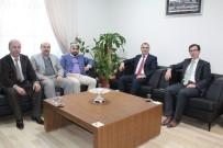 ESNAF VE SANATKARLAR ODALARı BIRLIĞI - Başkanı Konak'tan, Dr. Başkan'a Veda Ziyareti