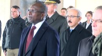 LÜTFI ELVAN - Benin Cumhurbaşkanı Anıtkabir'i Ziyaret Etti