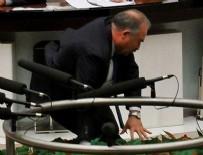 GRUP BAŞKANVEKİLİ - CHP'li Gök Meclis'te yere düştü