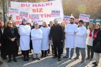 PROTESTO - CHP'liler Deli Gömleği Giydi