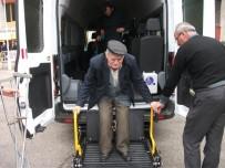 TEKERLEKLİ SANDALYE - Engelli Aracı İle Engeller Aşılıyor