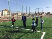 ZİYA GÖKALP - Ereğli Belediyesi'nden Gençlere Yeni Halı Saha