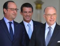 FRANÇOİS HOLLANDE - Fransa'da Başbakan Manuel Valls istifa etti