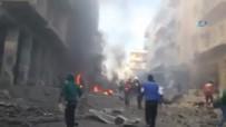 ÖZGÜR SURİYE - Halep'ten kan donduran görüntüler